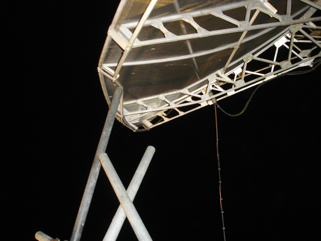News of my latest 23cm and 13cm EME activity from g4cch